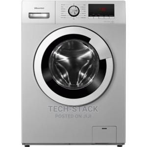 Hisense 8kg Automatic Front Loader Washing Machine   Home Appliances for sale in Lagos State, Oshodi