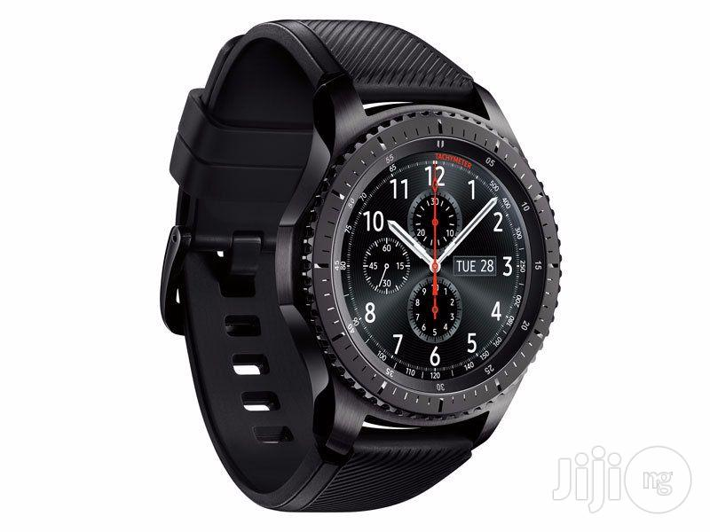 Samsung Gear S3 Frontier | Smart Watches & Trackers for sale in Ikeja, Lagos State, Nigeria