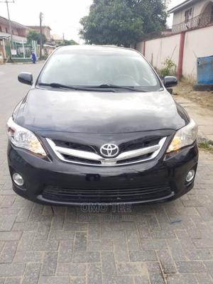 Toyota Corolla 2012 Black   Cars for sale in Lagos State, Surulere