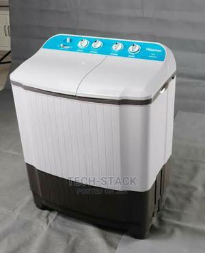 HISENSE 10kg Top Loader Washing Machine HISWMWSKA101   Home Appliances for sale in Lagos State, Oshodi