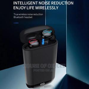 Bluetooth Earbuds + Powerbank   Headphones for sale in Lagos State, Ikeja