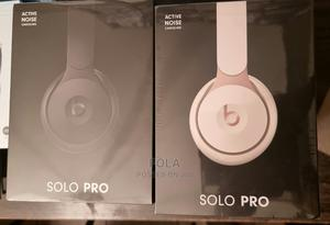 Beats Solo Pro Wireless Noise Cancelling On-Ear Headphones | Headphones for sale in Lagos State, Ogba