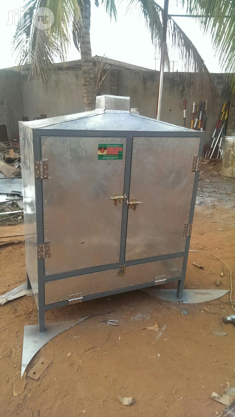 Fish Smoking Kiln Made By Dekoraj Farms