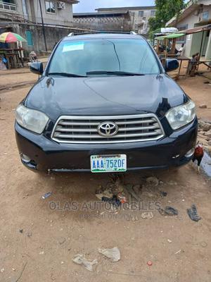 Toyota Highlander 2008 Black   Cars for sale in Lagos State, Ifako-Ijaiye