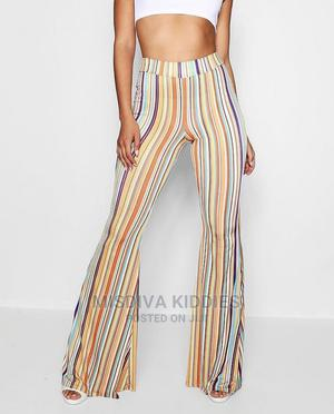 Multi Colour Flare Trouser | Clothing for sale in Lagos State, Apapa