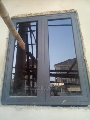 Casement Window With Gray Material   Windows for sale in Abuja (FCT) State, Jabi