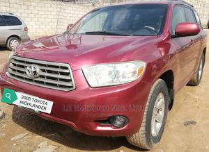 Toyota Highlander 2008 Red | Cars for sale in Abuja (FCT) State, Nyanya