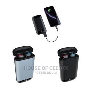 Wireless Bluetooth Earbuds / 6,000 Mah Powerbank | Headphones for sale in Lagos State, Ikeja