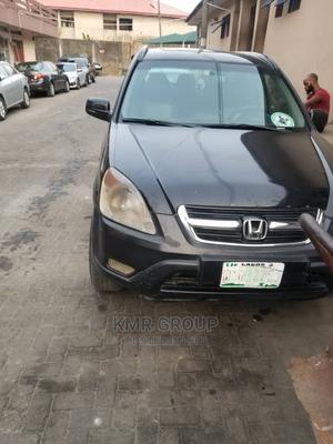 Honda CR-V 2003 EX 4WD Automatic Black   Cars for sale in Lagos State, Lagos Island (Eko)