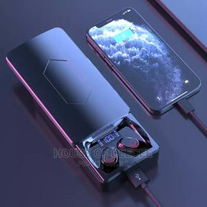 Wireless Bluetooth Earbuds With 10,000 Mah Powerbank | Headphones for sale in Lagos State, Ikeja