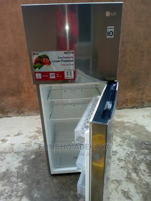 Few Months Used LG Inverter Fridge/Freezer in Superb Workin | Kitchen Appliances for sale in Lagos State, Yaba