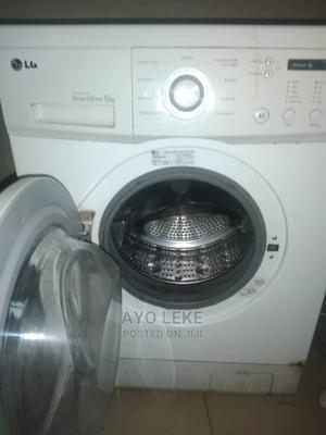 LG 5KG Automatic Front Loader Washing Machine.   Home Appliances for sale in Lagos State, Agege