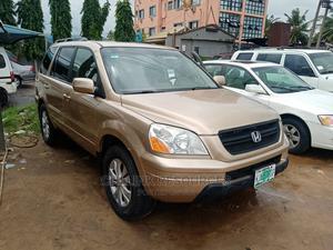 Honda Pilot 2004 Gold | Cars for sale in Lagos State, Ojo