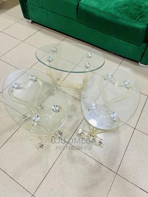 Glass Side Stools | Furniture for sale in Lagos State, Isolo