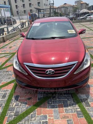 Hyundai Sonata 2014 Red | Cars for sale in Lagos State, Lekki