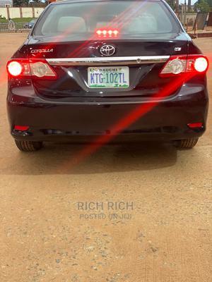 Toyota Corolla 2012 Black   Cars for sale in Abuja (FCT) State, Gwarinpa