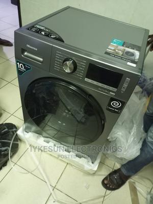 10KG Hisense Washing Machine INVERTER Washing and Drying | Home Appliances for sale in Lagos State, Amuwo-Odofin