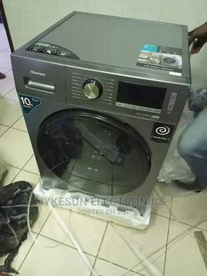 10KG Hisense Washing Machine INVERTER Washing and Drying | Home Appliances for sale in Lagos State, Ikeja