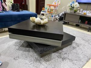 Center Table - 360 Rotation - Brown Grey   Furniture for sale in Lagos State, Lekki