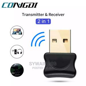 5.0 Bluetooth-Compatible Adapter USB Transmitter for Pc | Computer Accessories  for sale in Lagos State, Agege