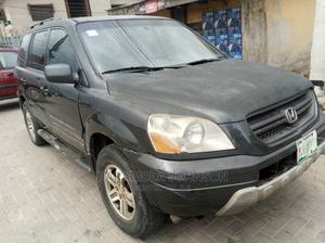 Honda Pilot 2004 Gray   Cars for sale in Lagos State, Kosofe