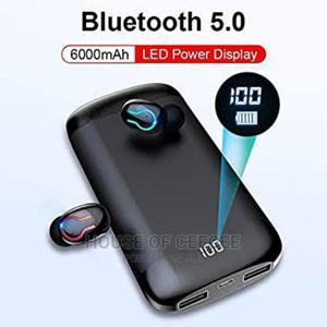 Bluetooth Earphones /Earbuds + Powerbank   Headphones for sale in Lagos State, Ikeja