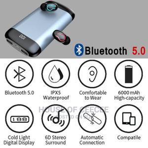 Bluetooth Earphones /Wireless Earbuds + Powerbank   Headphones for sale in Lagos State, Ikeja