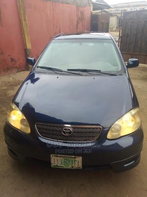 Toyota Corolla 2003 Sedan Blue   Cars for sale in Lagos State, Ojo