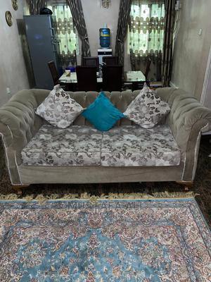 Fairly Used Sofa/Cushion Set   Furniture for sale in Abuja (FCT) State, Garki 2