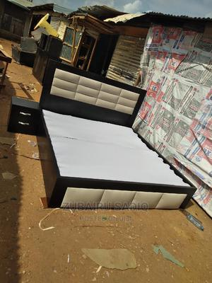 Bed Six by Six   Furniture for sale in Abuja (FCT) State, Lugbe District
