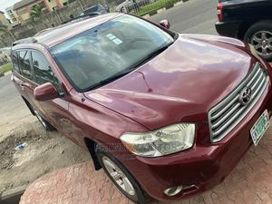 Toyota Highlander 2009 Limited Red   Cars for sale in Lagos State, Ikeja