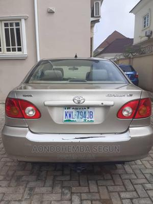 Toyota Corolla 2004 Gold   Cars for sale in Abuja (FCT) State, Gwarinpa