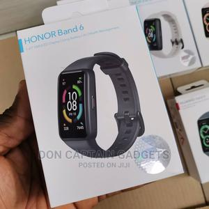 Honor Band 6 Watch Black | Smart Watches & Trackers for sale in Lagos State, Ikeja