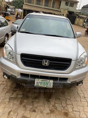 Honda Pilot 2004 Silver | Cars for sale in Lagos State, Ikeja