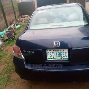 Honda Accord 2008 2.0 Comfort Automatic Blue | Cars for sale in Oyo State, Ibadan