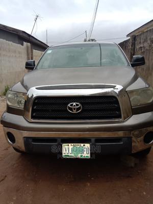 Toyota Tundra 2008 CrewMax Brown | Cars for sale in Lagos State, Ifako-Ijaiye