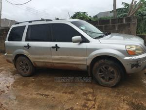 Honda Pilot 2005 EX-L 4x4 (3.5L 6cyl 5A) Silver | Cars for sale in Ondo State, Akure