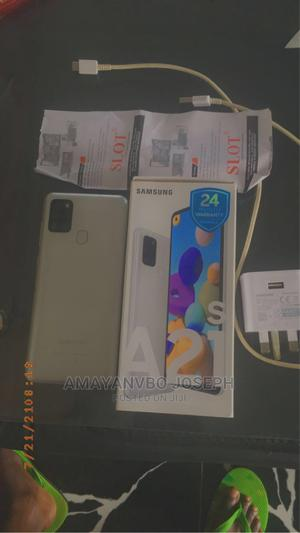 Samsung Galaxy A21s 128 GB Silver | Mobile Phones for sale in Edo State, Benin City
