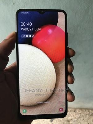 Samsung Galaxy A02S 32 GB Black   Mobile Phones for sale in Lagos State, Alimosho