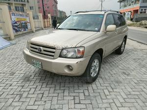 Toyota Highlander 2006 V6 4x4 Gold   Cars for sale in Rivers State, Port-Harcourt