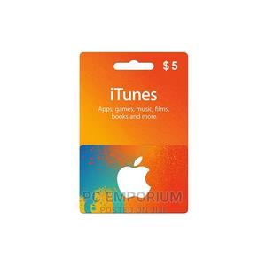 iTunes Gift Card (USA) - $5 | Accessories & Supplies for Electronics for sale in Abuja (FCT) State, Gudu