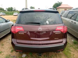 Acura MDX 2007 SUV 4dr AWD (3.7 6cyl 5A) Red | Cars for sale in Abuja (FCT) State, Kubwa