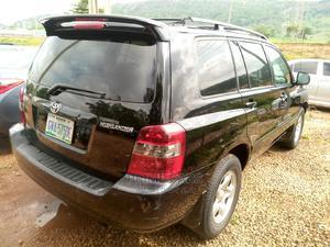Toyota Highlander 2007 Black   Cars for sale in Abuja (FCT) State, Katampe