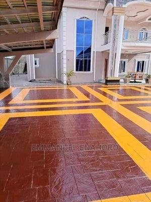 Concrete Floor Stamping | Building & Trades Services for sale in Lagos State, Lekki