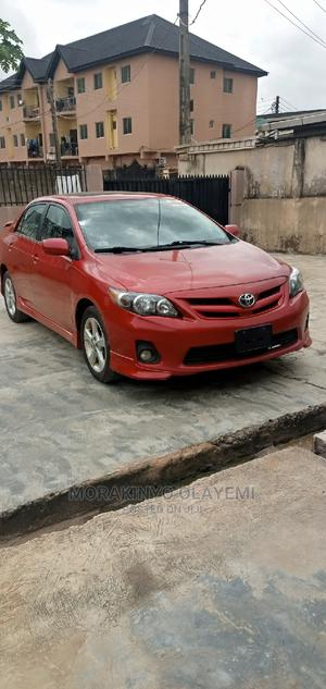 Toyota Corolla 2012 Red   Cars for sale in Lagos State, Ikeja