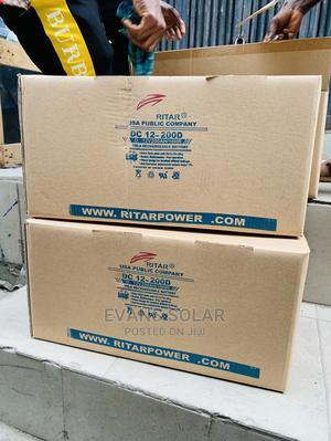 Ritar 200ah 12v Battery | Solar Energy for sale in Lagos State, Ojo