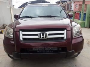 Honda Pilot 2007 EX 4x4 (3.5L 6cyl 5A) Red | Cars for sale in Lagos State, Gbagada