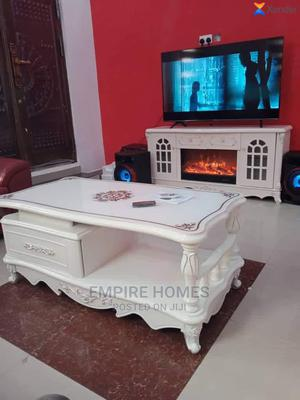 Royal Center Table and TV Shelve With Fireworks Display | Furniture for sale in Lagos State, Ajah