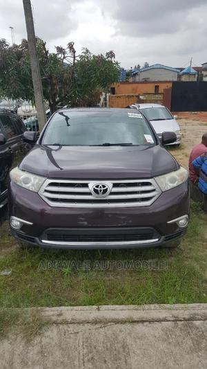 Toyota Highlander 2012 Limited Purple   Cars for sale in Lagos State, Surulere