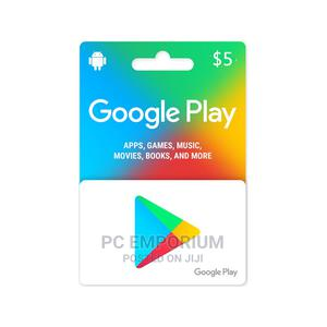 Google Gift Card (US) - $5   Accessories & Supplies for Electronics for sale in Abuja (FCT) State, Gudu